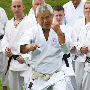 M. Shiomitsu, Sensei 9th Dan Hanshi (Chief instructor)