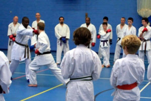 Wayne Otto OBE - Wado Ryu Karate seminar in Guildford 2013