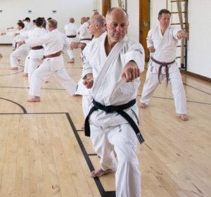 Beginners karate classes at Guildford, Aldershot, Farnham and Haselmere