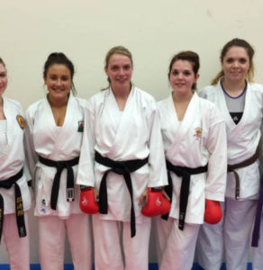 Ladies karate classes