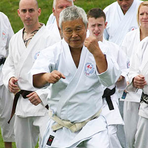 M. Shiomitsu, Sensei 9th Dan Hanshi (Chief instructor)