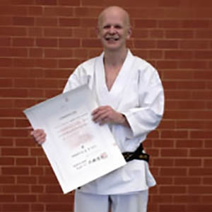 Aldershot karate instructor Brigadier Graham Hopkins