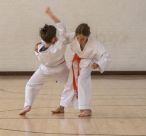 Ladies karate classes at Guildford, Aldershot, Haslemere and Farnham