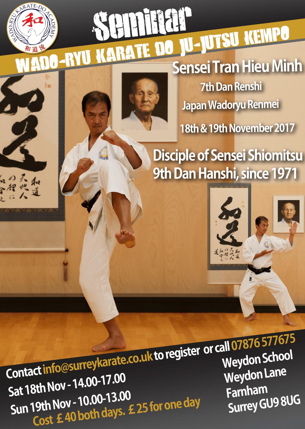Farnham Karate Academy 1st Dan black belts