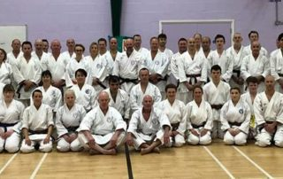 Wado Academy New Years training
